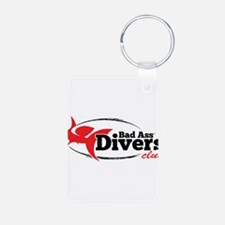 Bad Ass Divers Club Keychains