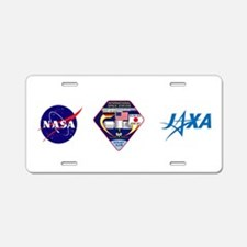 STS-127 Payload Aluminum License Plate