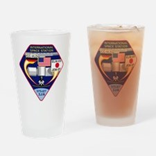 STS-127 Payload Drinking Glass