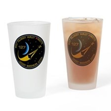 STS 127 Endeavour Drinking Glass