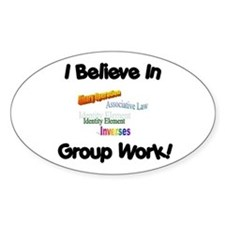 Group Work Decal