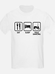 Eat Sleep Pole Dancing T-Shirt