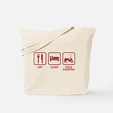 Eat Sleep Pole Dancing Tote Bag