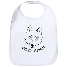 wolf wild spirit pack Bib