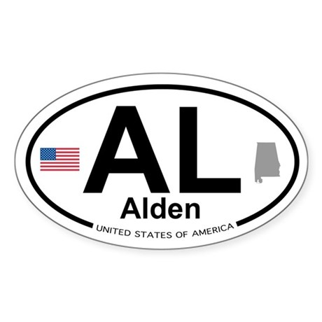 Alden Sticker (Oval)