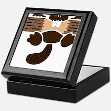 eager beaver Keepsake Box