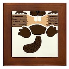 eager beaver Framed Tile