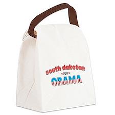 south dakotan for Obama.png Canvas Lunch Bag