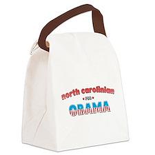 north carolinian for Obama.png Canvas Lunch Bag