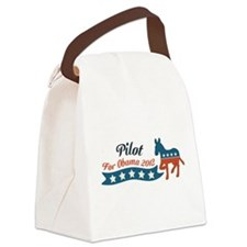 Pilot Profession for Obama.png Canvas Lunch Bag