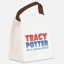 Tracy Potter for N Dakota 2010.png Canvas Lunch Ba