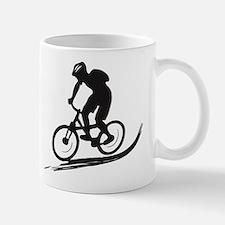 biker mtb mountain bike cycle downhill Mug
