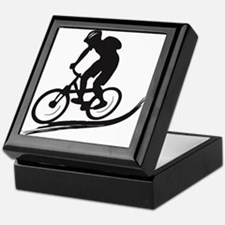 biker mtb mountain bike cycle downhill Keepsake Bo