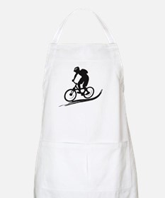 biker mtb mountain bike cycle downhill Apron
