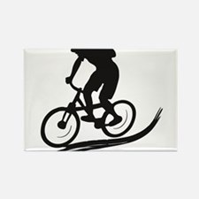 biker mtb mountain bike cycle downhill Rectangle M