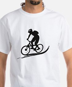 biker mtb mountain bike cycle downhill Shirt