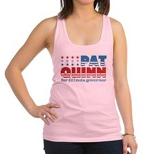 Pat Quinn for Illinois Governor.png Racerback Tank