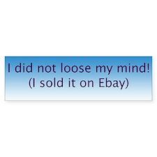 Ebay Bumper Bumper Sticker