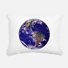 EARTH Rectangular Canvas Pillow