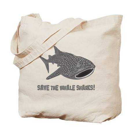 whale shark diver diving scuba Tote Bag