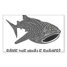 whale shark diver diving scuba Decal