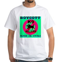 Boycott Made In China K9 Kill Shirt