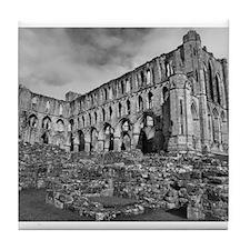 Ruins of Rievaulx Abbey Tile Coaster