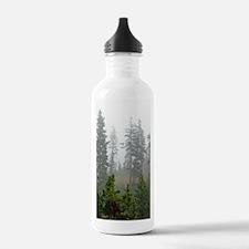 Misty forest Water Bottle