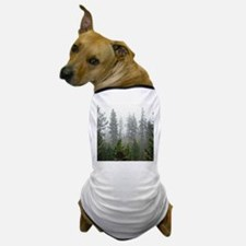 Misty forest Dog T-Shirt
