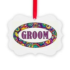 RAINBOW GROOM Ornament
