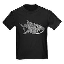 whale shark diver diving scuba T