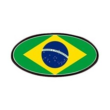 Flag of Brazil Patches