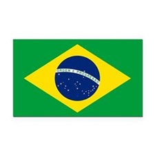 Flag of Brazil Rectangle Car Magnet