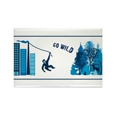 go wild urban nature monkey chimp stag Rectangle M