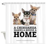 Chihuahua Shower Curtains
