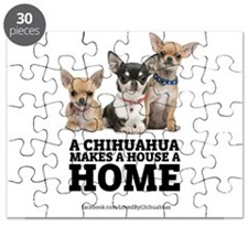 Home with Chihuahuas Puzzle