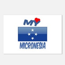 My Love Micronesia Postcards (Package of 8)