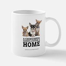 Home with Chihuahuas Mug