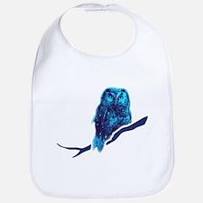 owl owlet bird night Bib