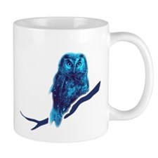 owl owlet bird night Mug