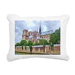 paris notra dam B.jpg Rectangular Canvas Pillow