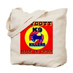 Boycott Made In China K9 Kill Tote Bag