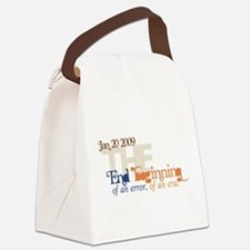 End of an Error Modern.png Canvas Lunch Bag