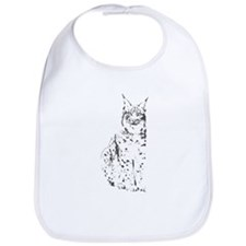lynx cougar wild cat bobcat Bib