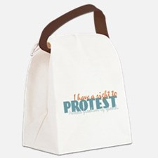 I Have a Right to Protest Transparent.png Canvas L