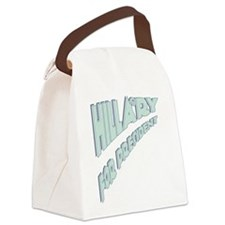 Hillary for President.png Canvas Lunch Bag