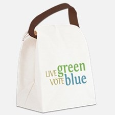 Live Green Vote Blue transparent.png Canvas Lunch