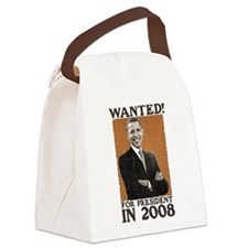 WANTED for president transparent dark.png Canvas L