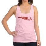 Red and Yellow Healthcare Voter.png Racerback Tank