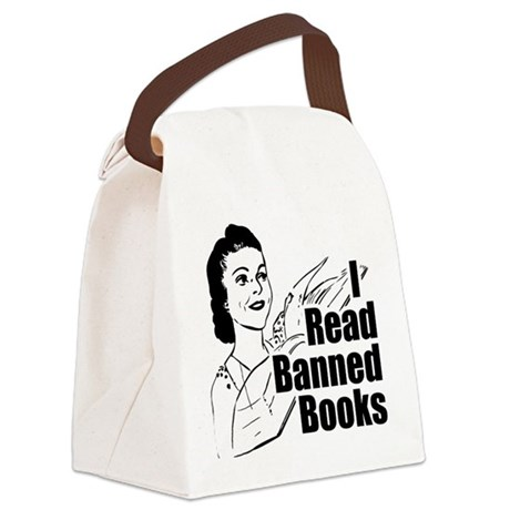 I Read Banned Books Transparent.png Canvas Lunch B